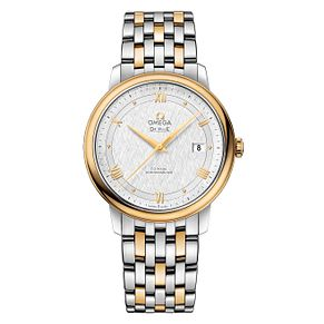 Omega De Ville Men's Stainless Steel Two Colour Watch - Product number 6940234