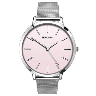 Sekonda Editions Ladies' Stainless Steel Mesh Bracelet Watch - Product number 6944809