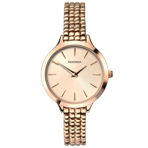 Sekonda Editions Ladies' Rose Gold Bracelet Watch - Product number 6944833