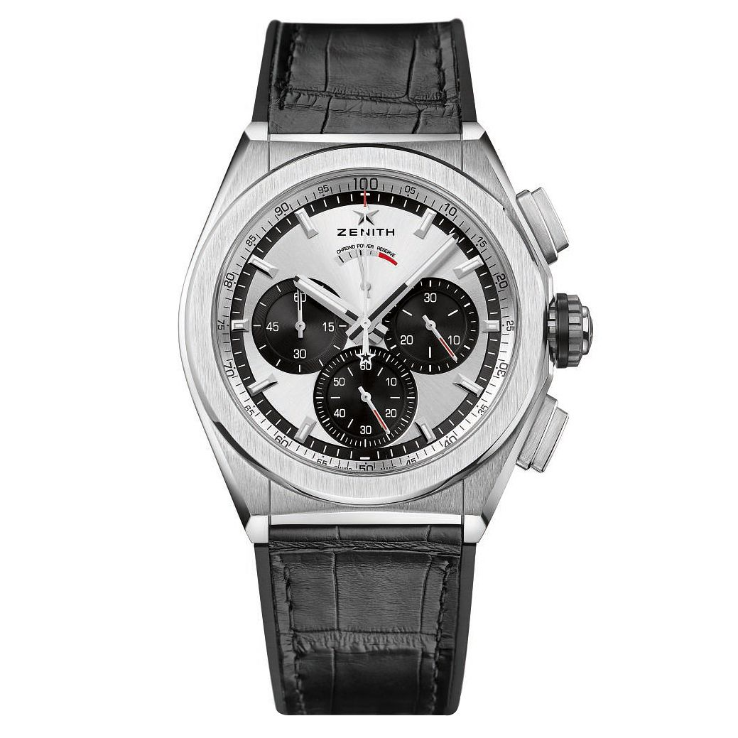 Zenith Defy Men's Titanium Chronograph Strap Watch - Product number 6947778