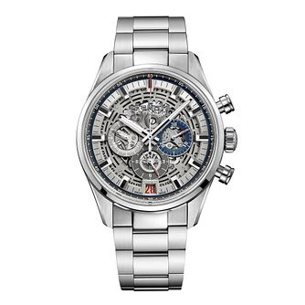 Zenith El Primero Men's Skeleton Bracelet Watch - Product number 6947786