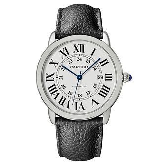 Cartier Ronde Solo Men's Stainless Steel Strap Watch - Product number 6947832