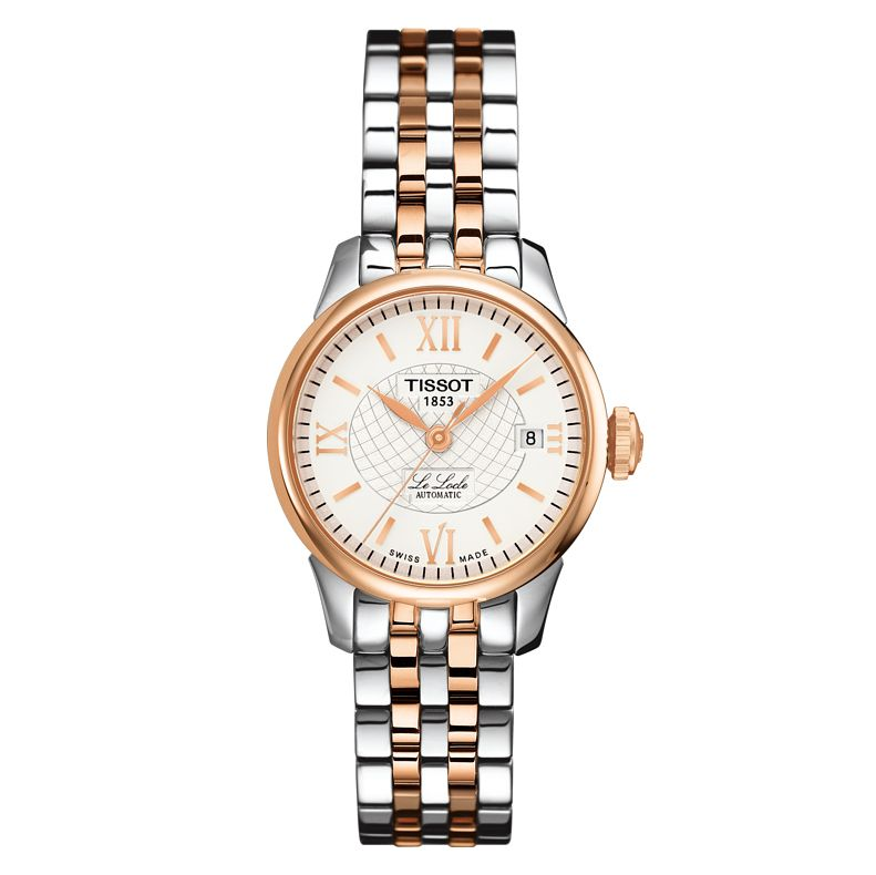 Tissot Ladies' Le Locle Rose Gold Plated Bracelet Watch - Product number 6952879