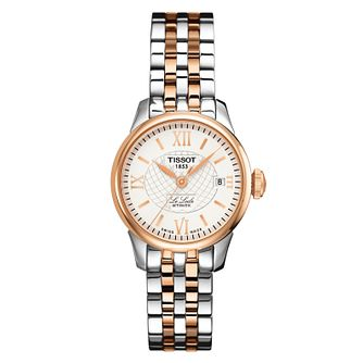 5a5afd874be Tissot Ladies  Le Locle Rose Gold Plated Bracelet Watch - Product number  6952879