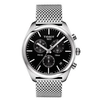 Tissot PR100 Men's Stainless Steel Chronograph Watch - Product number 6952941