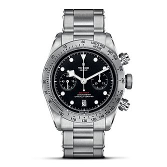 Tudor Heritage Black Bay Chrono Stainless Steel Watch - Product number 6954448