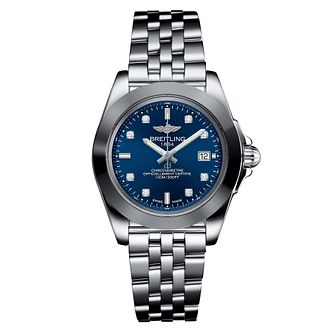Breitling Galactic 32 Ladies' Stainless Steel Bracelet Watch - Product number 6955053