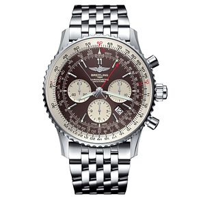 Breitling Navitimer Rattrapante Men's Stainless Steel Watch - Product number 6955126