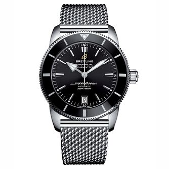 Breitling Superocean II 42 Men's Stainless Steel Black Watch - Product number 6955134