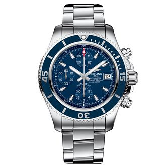 Breitling Superocean 42 Men's Stainless Steel Bracelet Watch - Product number 6955258