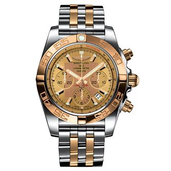 Breitling Chronomat 44 Men's Two-Tone Bracelet Watch - Product number 6955312