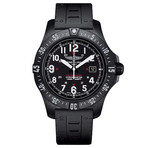 Breitling Colt Skyracer Men's Black Rubber Strap Watch - Product number 6955401