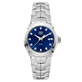 TAG Heuer Link Diamond Stainless Steel Bracelet Watch - Product number 6956173