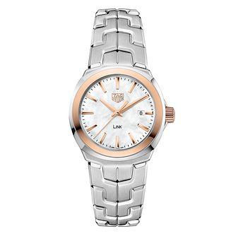 3ca8b897b TAG Heuer Link Ladies' Stainless Steel Bracelet Watch - Product number  6956181