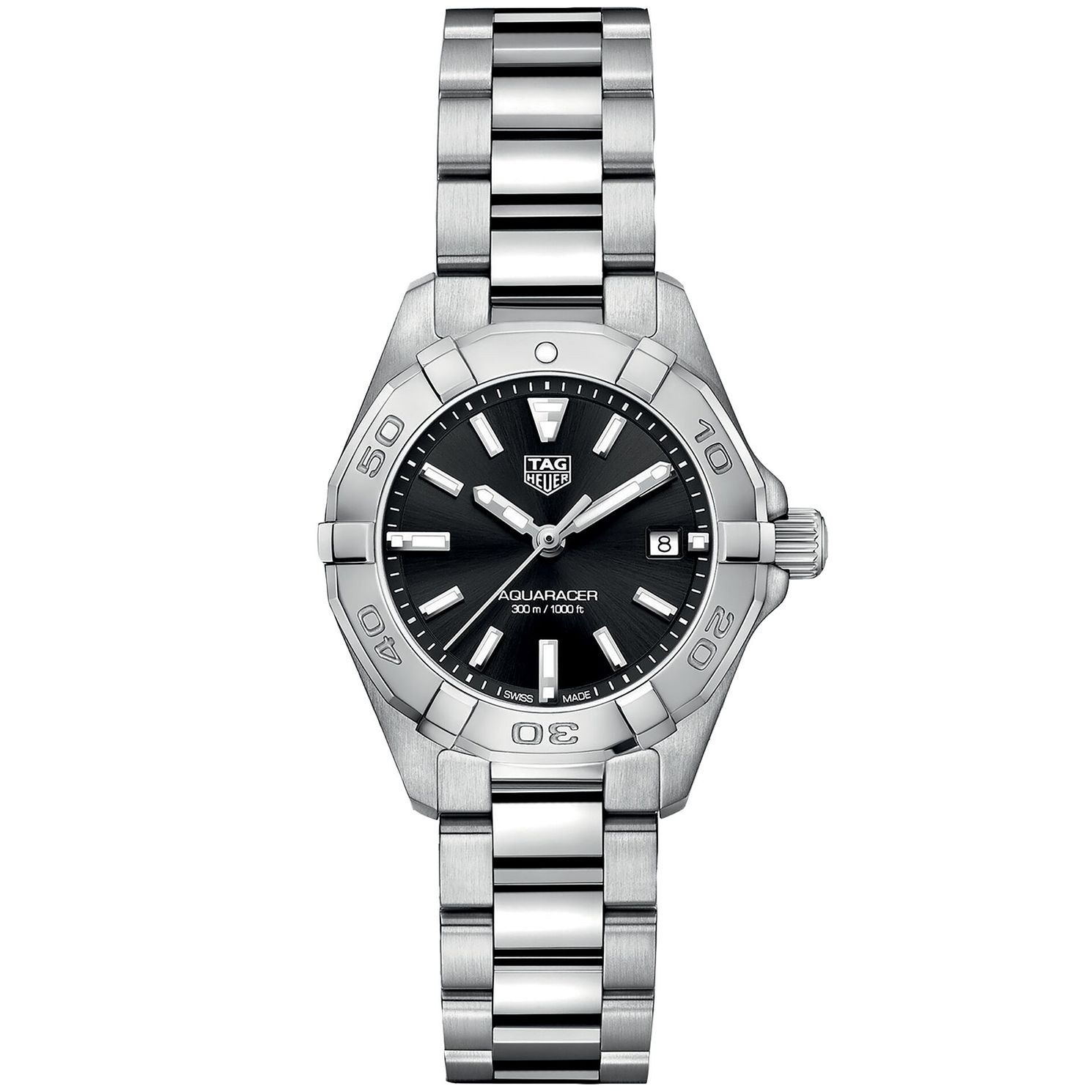 TAG Heuer Aquaracer Ladies' Stainless Steel Bracelet Watch - Product number 6956238