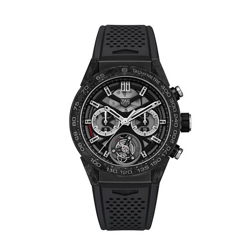 TAG Heuer Carrera Men's Titanium Strap Watch - Product number 6956386
