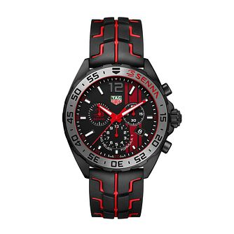TAG Heuer Formula 1 Men's Black Rubber Strap Watch - Product number 6956394