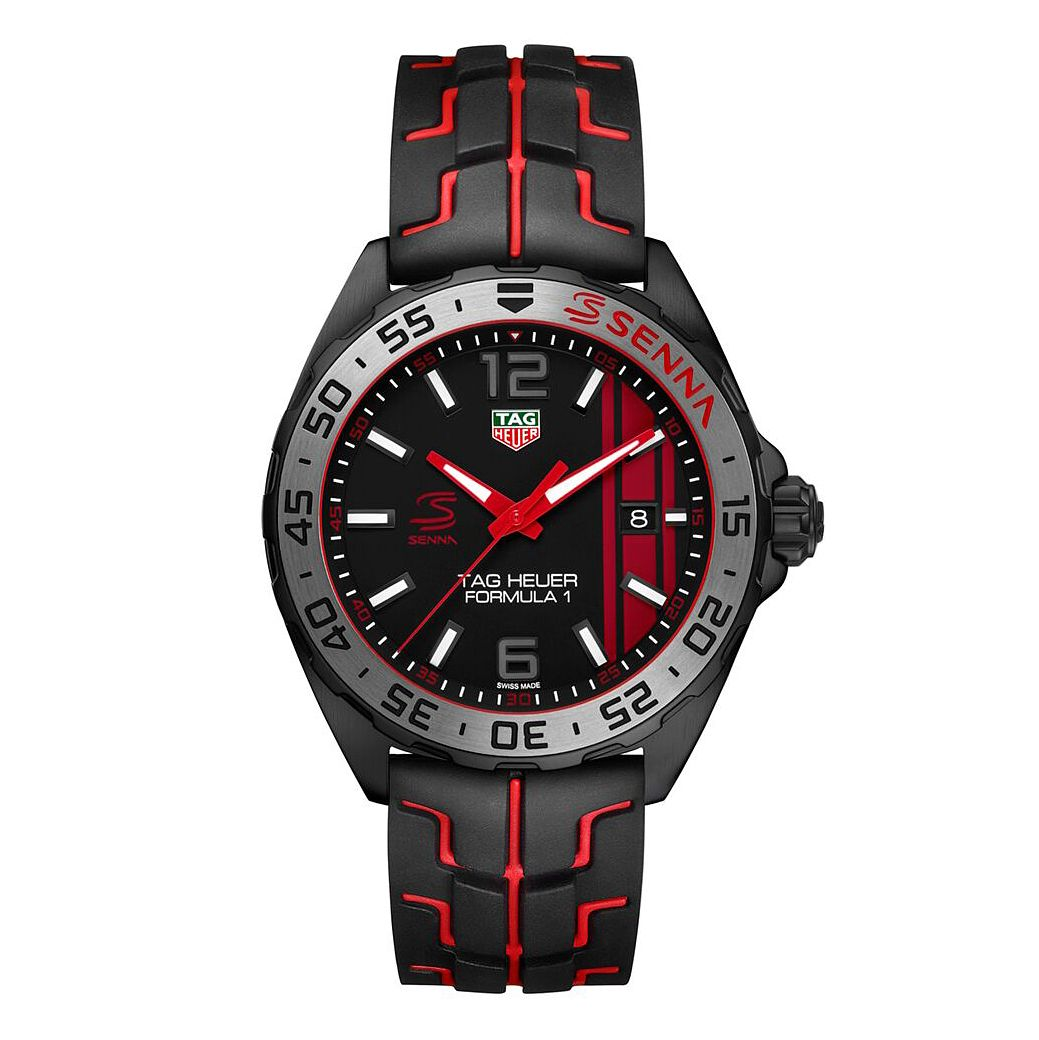 TAG Heuer Formula 1 Men's Stainless Steel Black Strap Watch - Product number 6956459