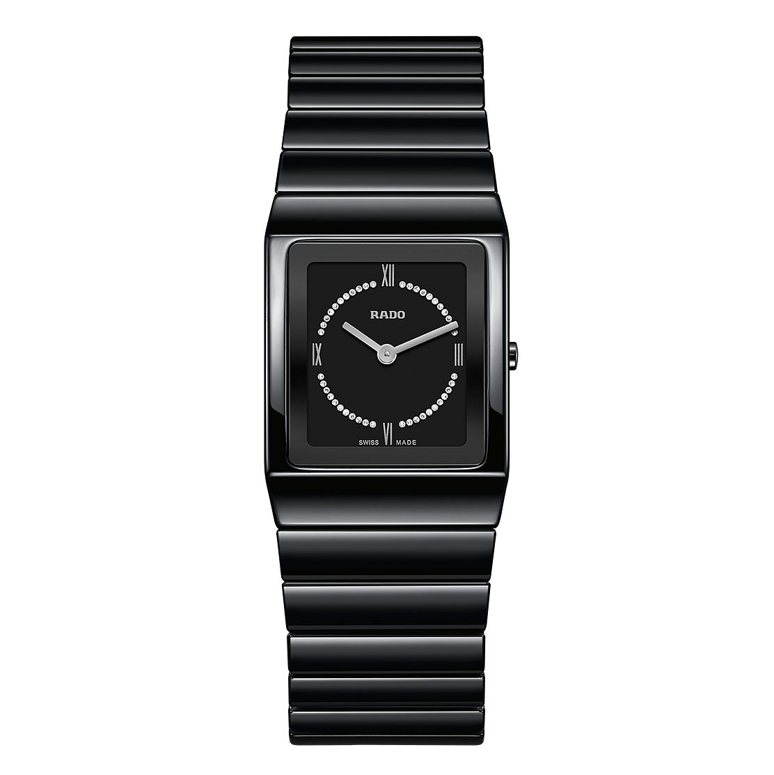 Rado Ceramica Ladies' Ceramic Black Bracelet Watch - Product number 6956599