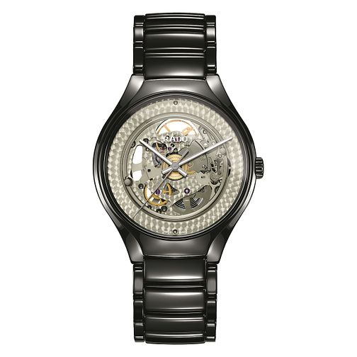Rado Limited Edition True Shadow Men's Black Skeleton Watch - Product number 6956742