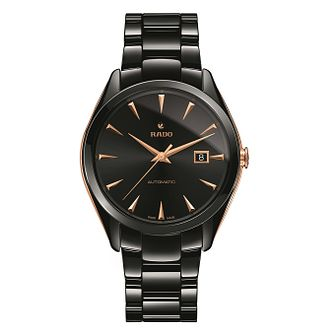 Rado Hyperchrome Automatic Xl Men's Black Ceramic Watch - Product number 6956785