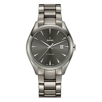 Rado Hyperchrome Automatic Xl Men's Grey Ceramic Watch - Product number 6956793