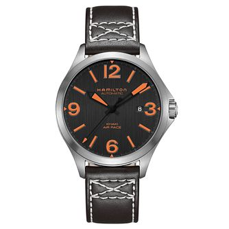 Hamilton Khaki Aviation Men's Stainless Steel Strap Watch - Product number 6956971