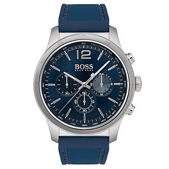 Hugo Boss Professional Men's Blue Chronograph Watch - Product number 6957404