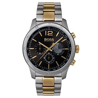 BOSS Professional Men's Two Colour Chronograph Watch - Product number 6957439