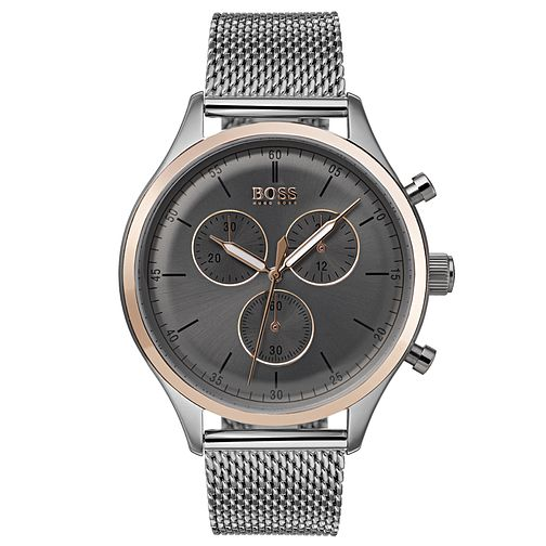 Hugo Boss Companion Men's Two Colour Chronograph Watch - Product number 6957501