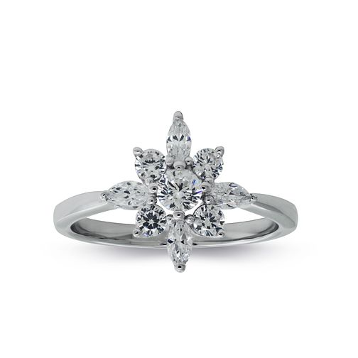 CARAT* LONDON Camelia Snowflower Ring Size L - Product number 6957765