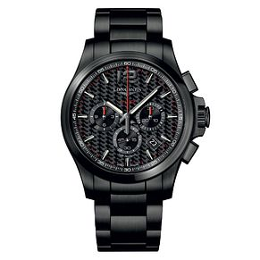 Longines Conquest V.H.P Men's Black Chronograph Watch - Product number 6959326
