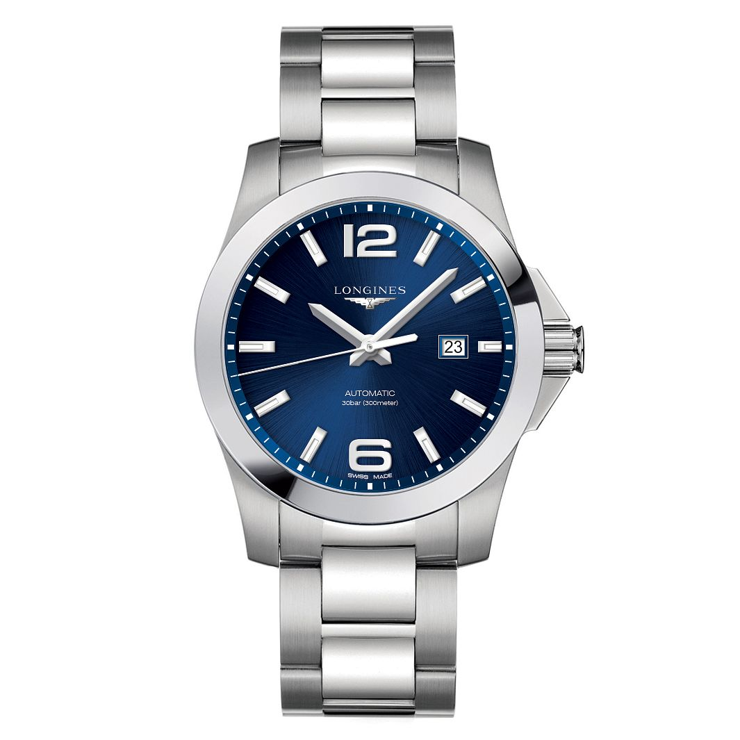 Longines Conquest Men's Stainless Steel Bracelet Watch - Product number 6959369