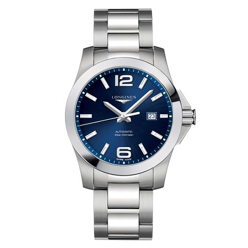 0842d053641 Longines Conquest Men's Stainless Steel Bracelet Watch - Product number  6959369