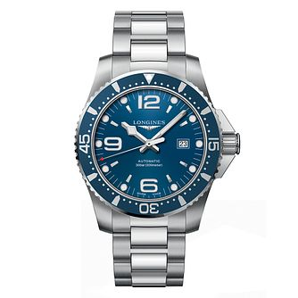 Longines HydroConquest Men's Blue Dial Bracelet Watch - Product number 6959385