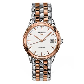 Longines Flagship Men's Two Colour Bracelet Watch - Product number 6959407