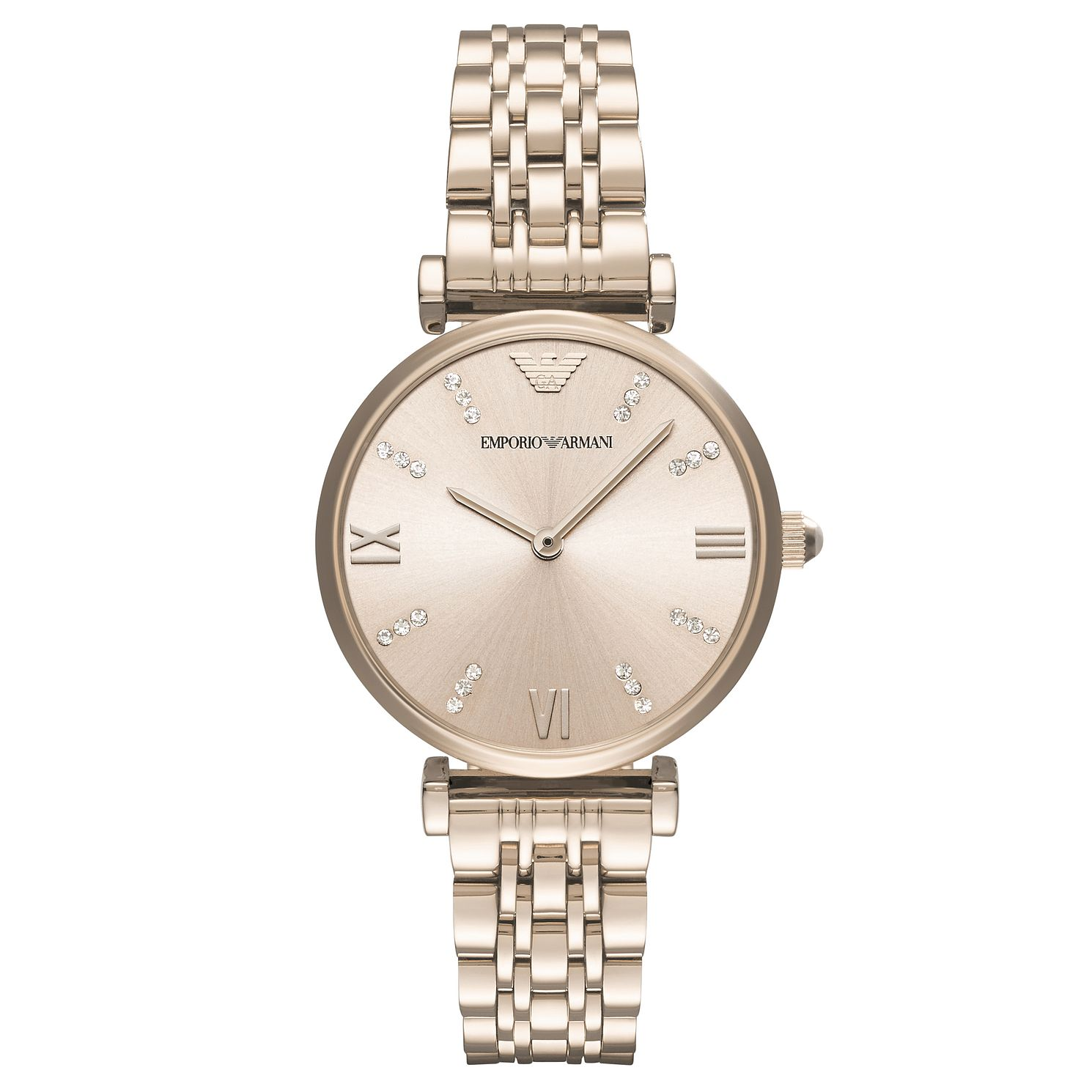 Emporio Armani Ladies' Rose Gold Tone Bracelet Watch - Product number 6988253