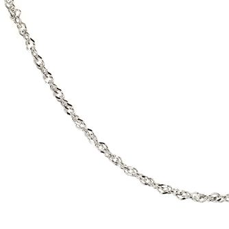Sterling Silver 18 inches Singapore Chain - Product number 8001316