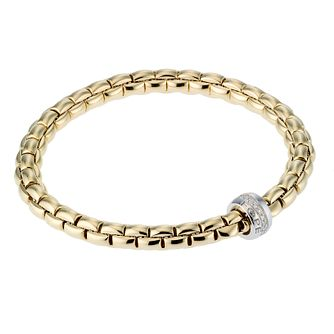 Fope Gioielli Flex-It 18ct gold bracelet. - Product number 8004145