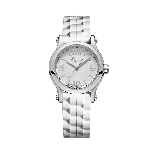 Chopard Happy Sport Ladies' Stainless Steel Bracelet Watch - Product number 8020280
