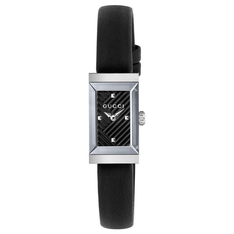 Gucci G Frame La s Stainless Steel Strap Watch Ernest Jones
