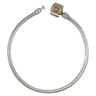 "Chamilia sterling silver snap bracelet 19cm or 7.5"" - Product number 8023883"