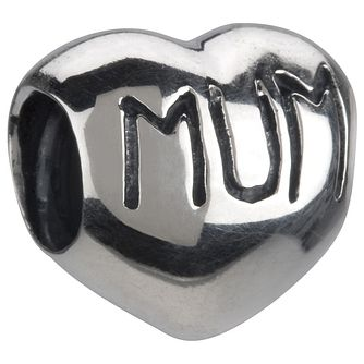Chamilia - Sterling Silver Mum Heart Charm - Product number 8024111