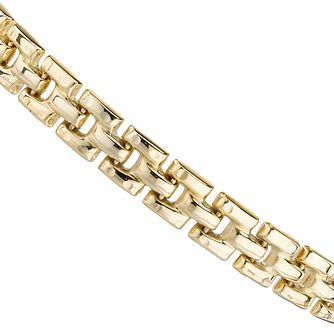 9ct Yellow Gold 7.25 inches Panther Chain - Product number 8025827