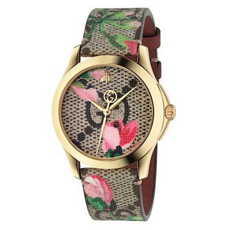 Gucci G-Timeless Floral Strap Watch - Product number 8027501