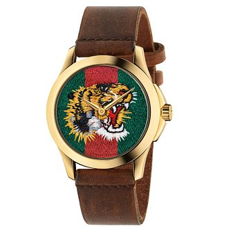 Gucci Le Marché des Merveilles Ladies' Tiger Strap Watch - Product number 8028133