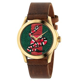 Gucci Le Marché des Merveilles Ladies' Snake Strap Watch - Product number 8028141