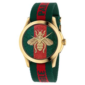 Gucci Le Marché des Merveilles Ladies' Bee Strap Watch - Product number 8028168