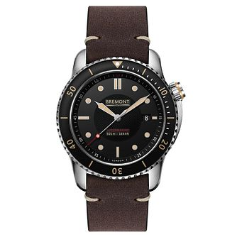 Bremont Supermarine S501 Men's Brown Rubber Strap Watch - Product number 8029091