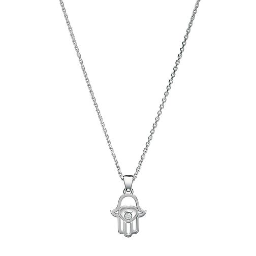 Chopard Happy Diamonds 18ct White Gold Hand Pendant - Product number 8031223